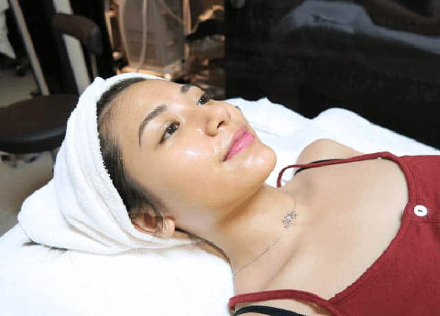 Calista during treatment